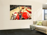Oklahoma City Thunder v Chicago Bulls: Nenad Krstic and Joakim Noah Prints by Joe Murphy