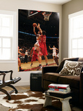Houston Rockets v Toronto Raptors: DeMar DeRozan and Brad Miller Prints by Ron Turenne