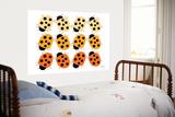 Orange Ladybug Family Affiches par  Avalisa