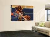 Cleveland Cavaliers v Indiana Pacers: Roy Hibbert, Joey Graham and Anthony Parker Prints by Ron Hoskins