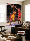Chicago Bulls v Los Angeles Lakers: Ron Artest, Taj Gibson and Joakim Noah Poster by Andrew Bernstein