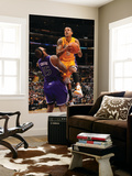 Sacramento Kings v Los Angeles Lakers: Matt Barnes and DeMarcus Cousins Prints by Noah Graham