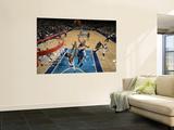 Minnesota Timberwolves v Dallas Mavericks: Kevin Love and Tyson Chandler Posters by Glenn James