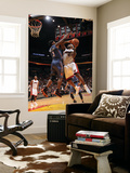 Charlotte Bobcats v Miami Heat: LeBron James Print by Andrew Bernstein