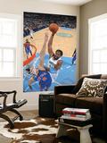 New York Knicks v Denver Nuggets: Nene and Danilo Gallinari Prints by Garrett Ellwood