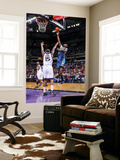 New Orleans Hornets v Sacramento Kings: Emeka Okafor and DeMarcus Cousins Posters by Rocky Widner