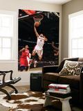 Philadelphia 76ers v Toronto Raptors: Linas Kleiza and Tony Battie Posters by Ron Turenne