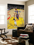 New York Knicks v Golden State Warriors: Raymond Felton and Stephen Curry Prints by Rocky Widner