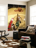 Boston Celtics v Toronto Raptors: Ray Allen and Reggie Evans Prints by Ron Turenne