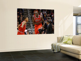 Chicago Bulls v Phoenix Suns: Luol Deng and Derrick Rose Posters by Christian Petersen
