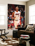 Detroit Pistons v Miami Heat: Chris Bosh Print by Victor Baldizon