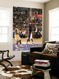 Indiana Pacers v Los Angeles Lakers: Solomon Jones Prints by Andrew Bernstein
