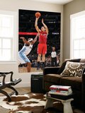 Los Angeles Clippers v Denver Nuggets: Blake Griffin and Al Harrington Posters by Garrett Ellwood