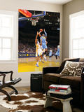Denver Nuggets v Golden State Warriors: Carmelo Anthony and Reggie Williams Print by Rocky Widner
