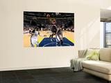 Portland Trail Blazers v Memphis Grizzlies: Wesley Matthews, Darrell Arthur and O.J. Mayo Posters by Joe Murphy