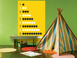 Yellow Counting Apples Posters por  Avalisa