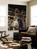 Atlanta Hawks v Indiana Pacers: T. J. Ford and Jeff Teague Poster by Ron Hoskins