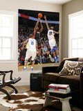 Miami Heat v Golden State Warriors: Lebron James and Dorell Wright Prints by Rocky Widner