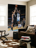 San Antonio Spurs v New Orleans Hornets: Emeka Okafor and Tim Duncan Art by Layne Murdoch