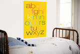 Yellow Rainbow Alphabet Posters by  Avalisa
