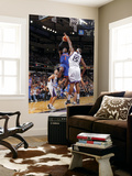 New York Knicks v Sacramento Kings: Amare Stoudemire and DeMarcus Cousins Prints by Rocky Widner