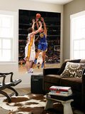 Golden State Warriors v Los Angeles Lakers: Dan Gadzuric and Pau Gasol Posters by Noah Graham