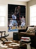 Miami Heat v Dallas Mavericks: LeBron James and DeShawn Stevenson Prints by Glenn James