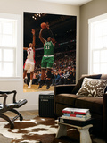 Boston Celtics v Toronto Raptors: Glen Davis and DeMar DeRozan Prints by Ron Turenne