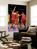 Chicago Bulls v Los Angeles Lakers: Pau Gasol, Joakim Noah and Luol Deng Art by Noah Graham