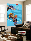 Oklahoma City Thunder v New Orleans Hornets: Russell Westbrook and Emeka Okafor Prints by  Chris
