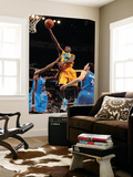 Oklahoma City Thunder v New Orleans Hornets: Quincy Pondexter, James Harden and Nick Collison Prints by  Chris