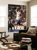 San Antonio Spurs v Los Angeles Clippers: Blake Griffin and Tiago Splitter Poster by Andrew Bernstein