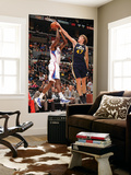 Utah Jazz v Los Angeles Clippers: Al-Farouq Aminu and Andrei Kirilenko Posters by Noah Graham