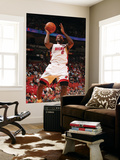 Detroit Pistons v Miami Heat: LeBron James Posters by Victor Baldizon