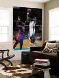 Detroit Pistons v New Orleans Hornets: Emeka Okafor and Jason Maxiell Prints by  Chris
