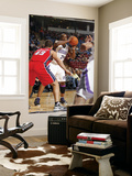 New Jersey Nets v Sacramento Kings: Carl Landry and Kris Humphries Posters by Don Smith