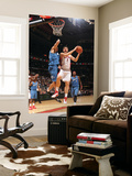 Washington Wizards v Toronto Raptors: Andrea Bargnani and JaVale McGee Prints by Ron Turenne