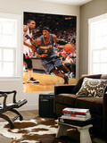 Charlotte Bobcats v Miami Heat: Gerald Wallace and James Jones Posters by Victor Baldizon