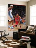 Chicago Bulls v Denver Nuggets: C.J. Watson and Al Harrington Art by Garrett Ellwood