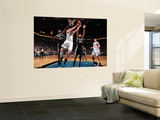 San Antonio Spurs v Minnesota Timberwolves: Antonio McDyess, Kevin Love and Tim Duncan Prints by David Sherman