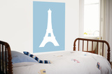 Blue Eiffel Tower Prints by  Avalisa