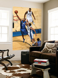 Orlando Magic v Washington Wizards: Rashard Lewis and JaVale McGee Posters by Ned Dishman