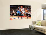 Orlando Magic v Los Angeles Clippers: Ryan Gomes and Mickael Pietrus Print by Noah Graham