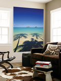 Lanikai Beach, Kailua, Hawaii, USA Art by Douglas Peebles