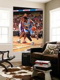Denver Nuggets v Phoenix Suns: Nene Hilário and Channing Frye Prints by Barry Gossage