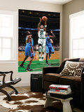Oklahoma City Thunder v Boston Celtics: Paul Pierce and James Harden Posters by Brian Babineau