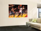 Charlotte Bobcats v Miami Heat: Dwyane Wade Prints by Victor Baldizon
