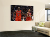 Chicago Bulls v Phoenix Suns: Luol Deng and Derrick Rose Prints by Christian Petersen