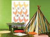 Orange Chicken Family Plakater af Avalisa