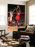 Philadelphia 76ers v Miami Heat: Marreese Speights and Joel Anthony Prints by Victor Baldizon